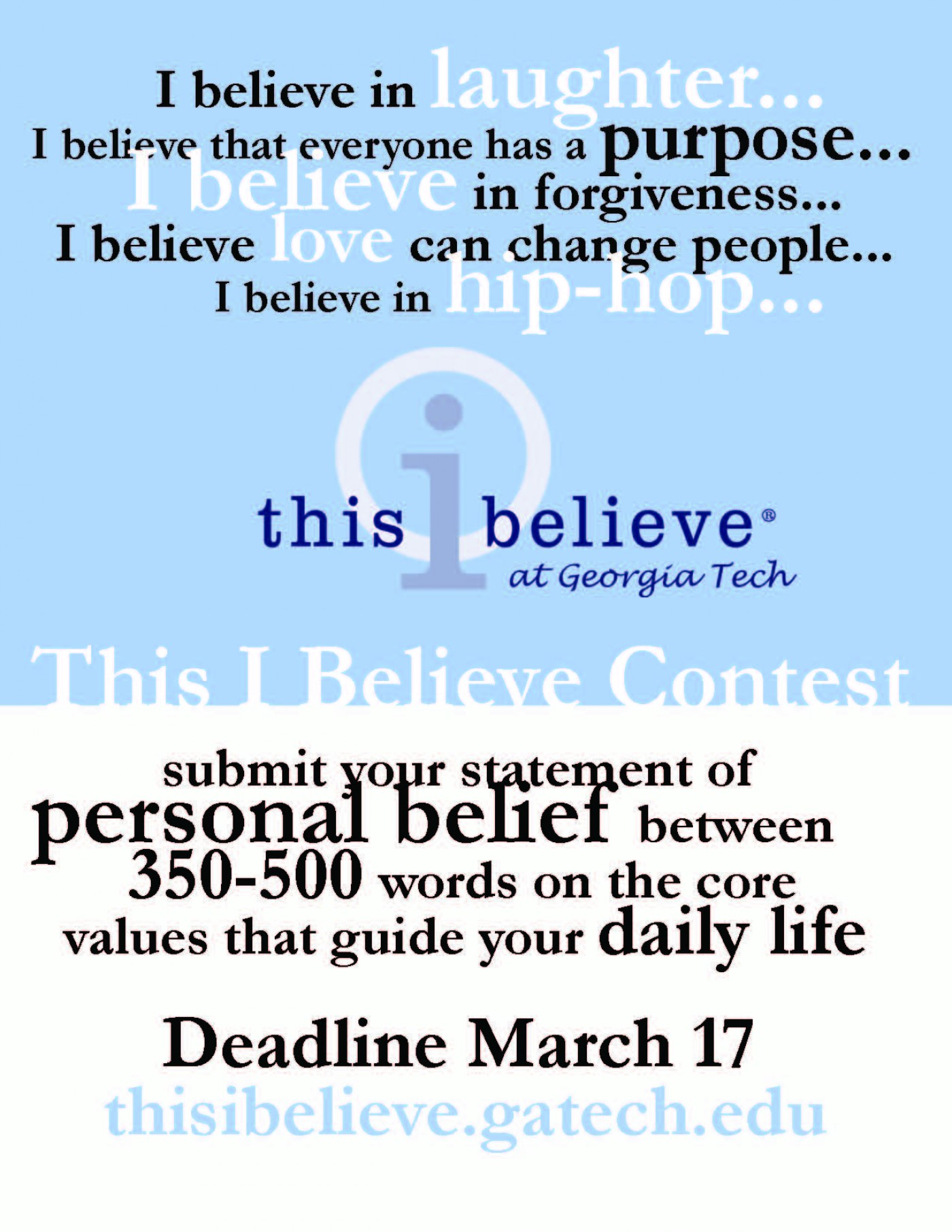 022 This I Believe Essay Topics Example Thisibelieve8 Fearsome Funny Prompt 1400
