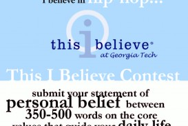 022 This I Believe Essay Topics Example Thisibelieve8 Fearsome Prompt Easy Funny