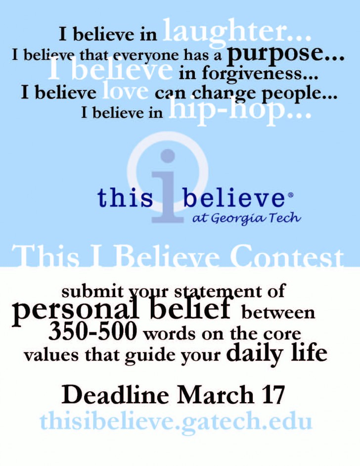 022 This I Believe Essay Topics Example Thisibelieve8 Fearsome Funny Prompt 728