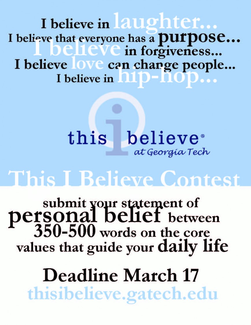 022 This I Believe Essay Topics Example Thisibelieve8 Fearsome Writing Prompts Easy