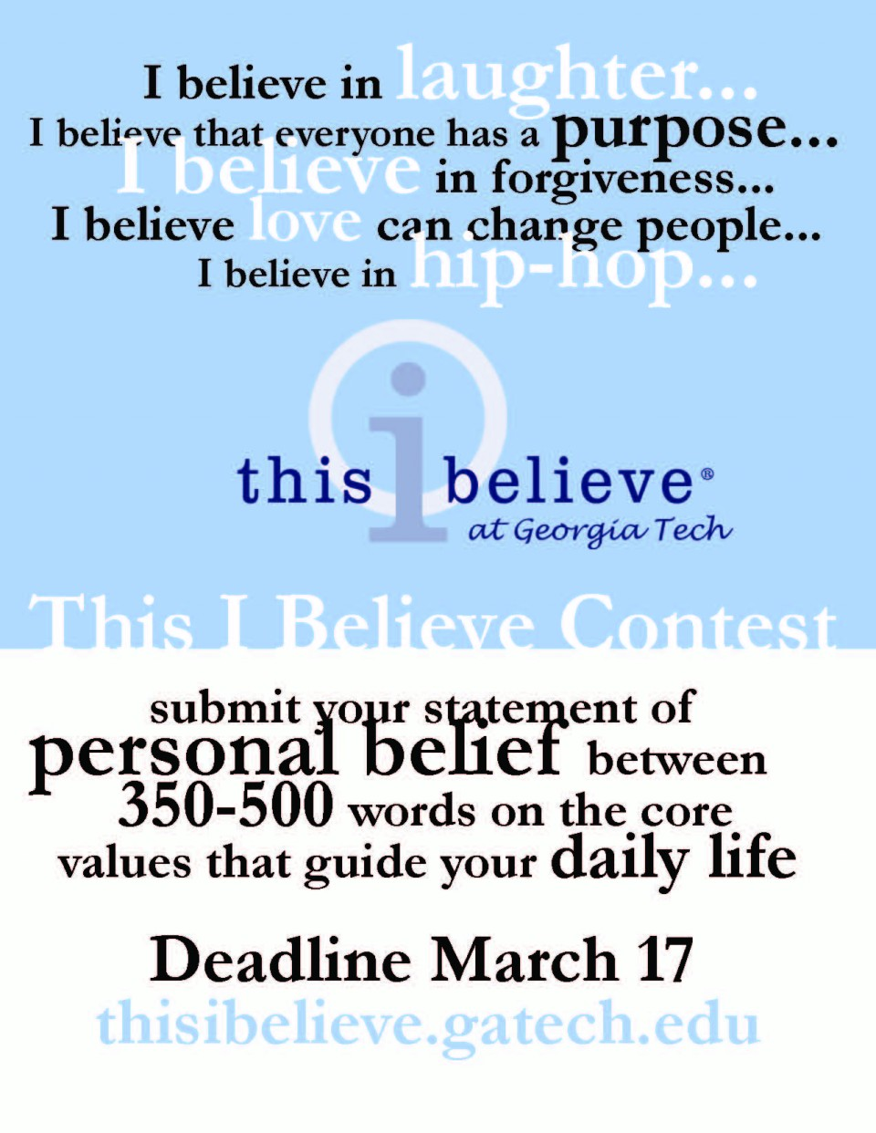 022 This I Believe Essay Topics Example Thisibelieve8 Fearsome Funny Prompt 960