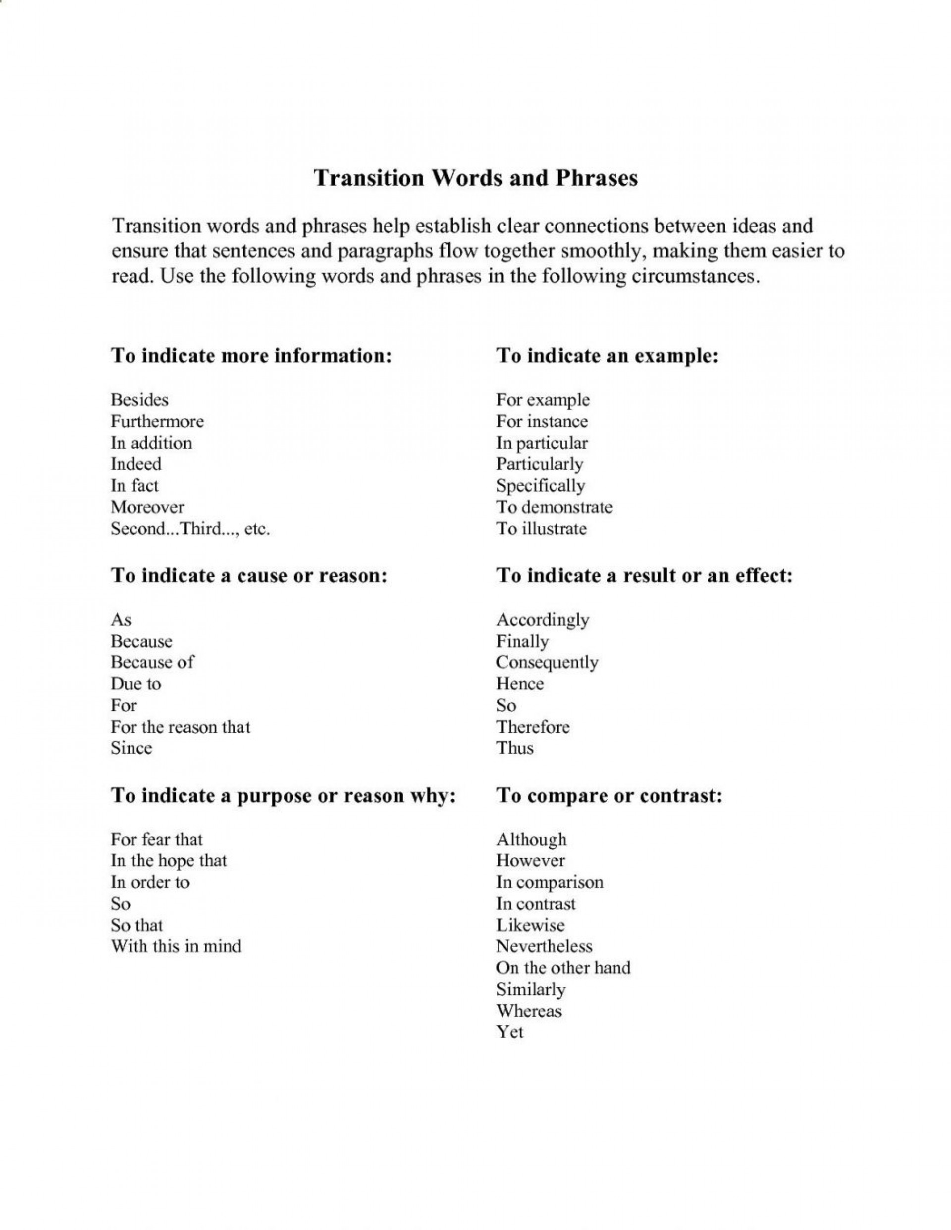 022 Transitional Words And Phrases Help An Essay To Flow More Smoothly Transition For Essays First Body Paragraph Start Pdf Next 1048x1356 Transitions In Outstanding Use College Writing Ppt Smooth 1920