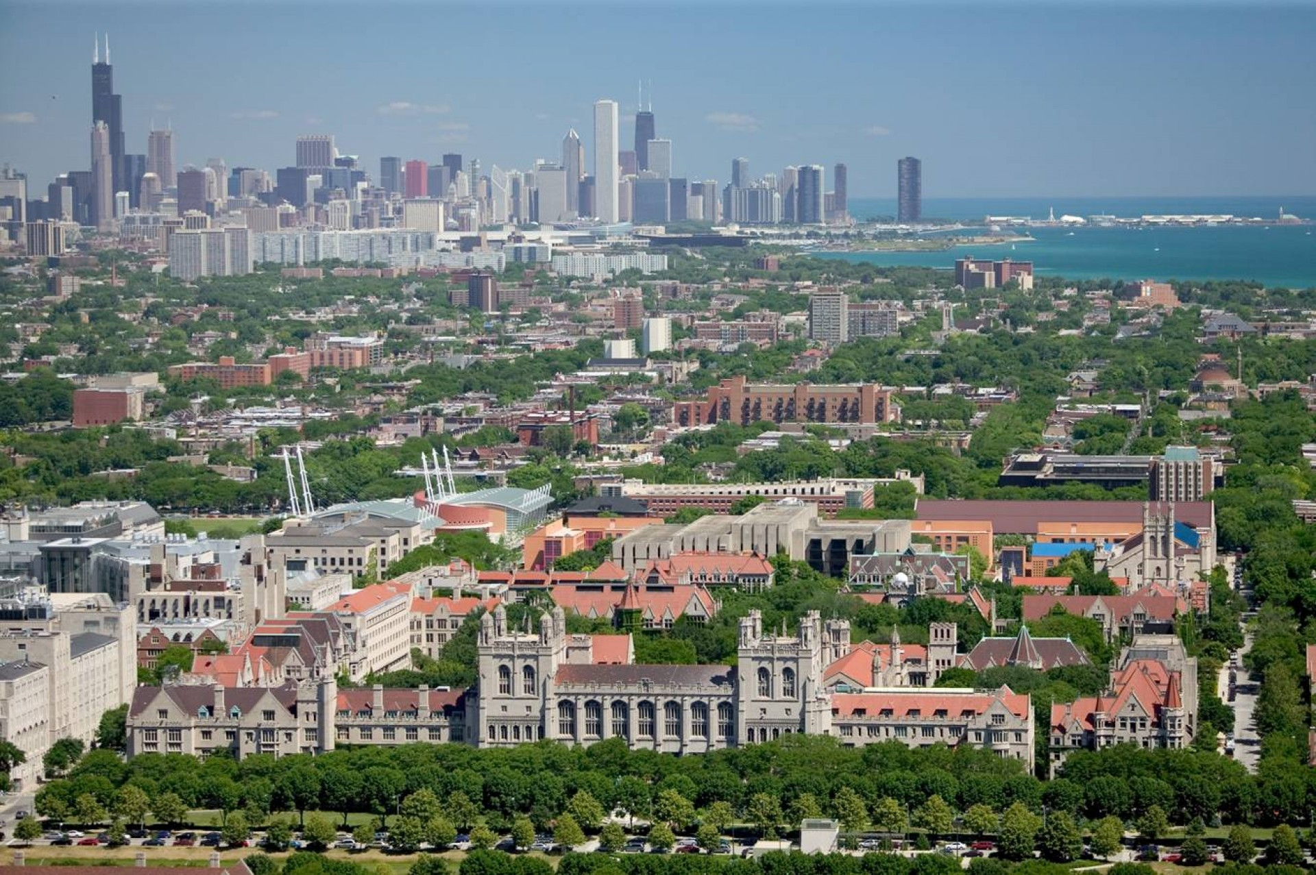 022 University Of Chicago Essays Essay Example Alex Maclean 2005 Campus With Cityscape Unusual Past Prompts That Worked College Confidential 1920