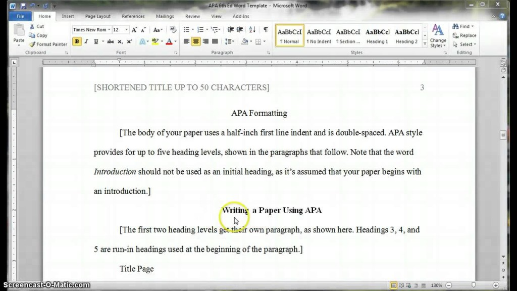 023 Apa Heading For Essay Maxresdefault Top Formatting Guidelines Development Example Large