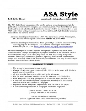 023 Asa Format Papers Essay Remarkable Reference Generator Heading Citation 360