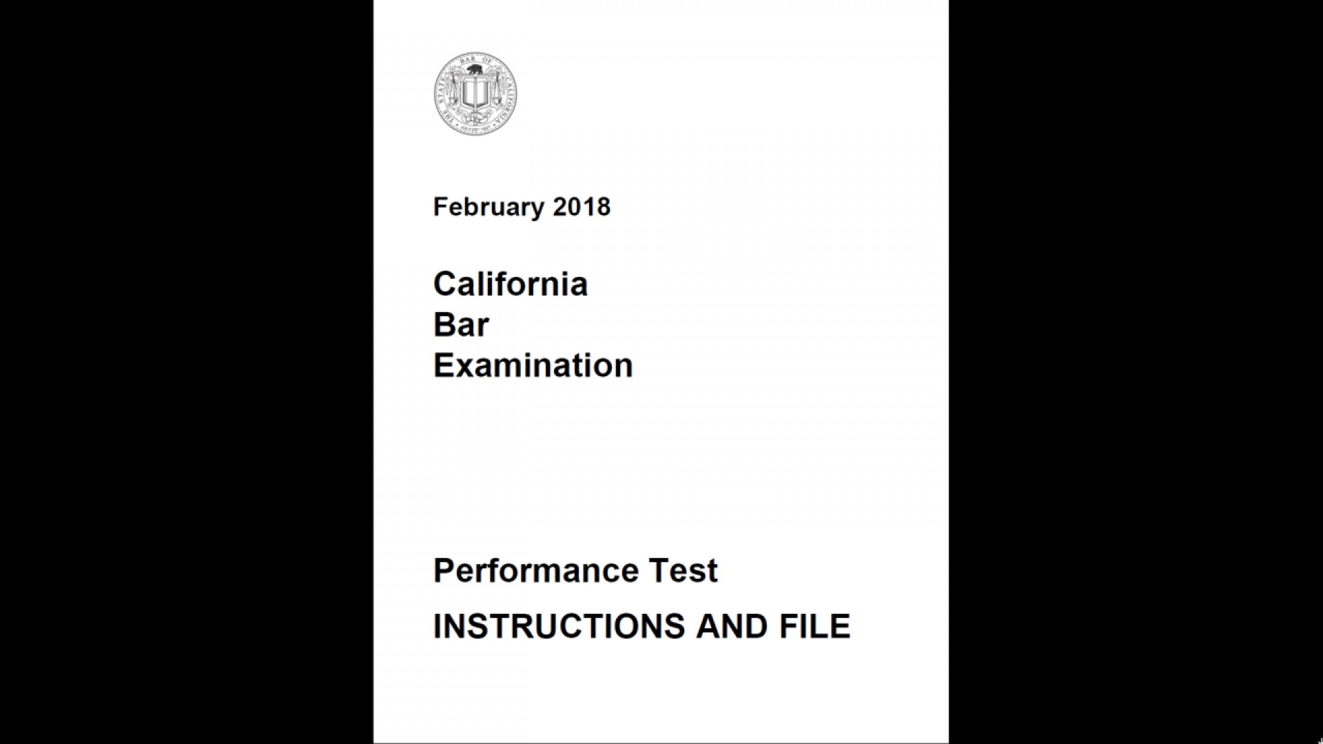 023 Essay Example California Bar Essays Ecnsu9grsogva9z49swz Firstframe Marvelous Exam Graded February 2018 How Are 1920