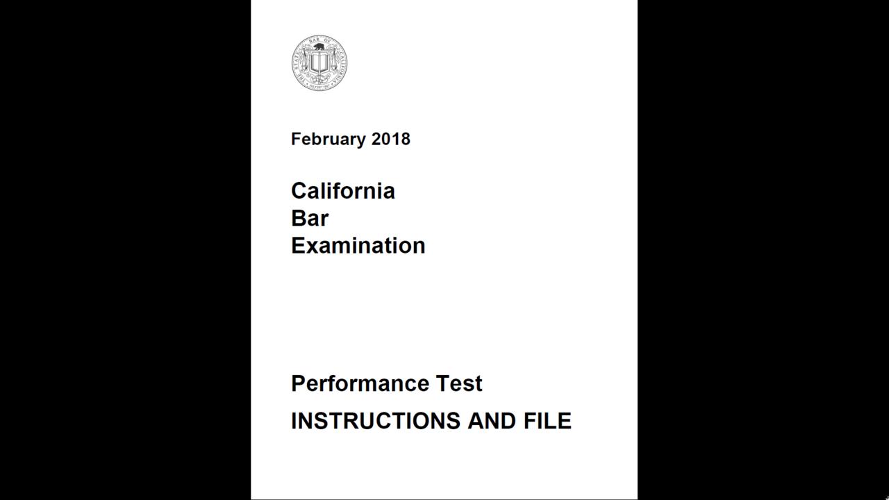 023 Essay Example California Bar Essays Ecnsu9grsogva9z49swz Firstframe Marvelous Exam Graded February 2018 How Are Full