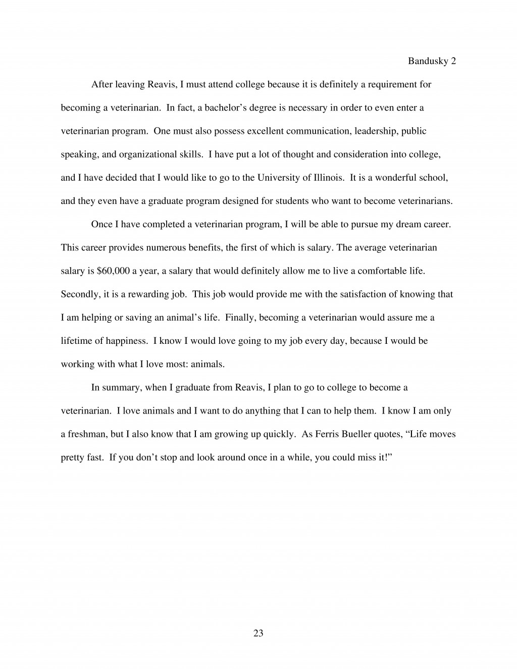 023 Essay Example Expository Outline Sample Page 2 Surprising Template Middle School Large
