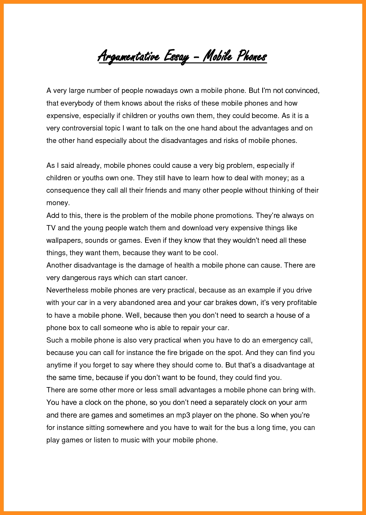 023 Essay Example Meet The Kids Cycle Evaluative Examples Persuasive Samples For High School Gre Essays With Regard To Child Discipline Argumentative On Rare Children Children's Day In Kannada Telugu Full