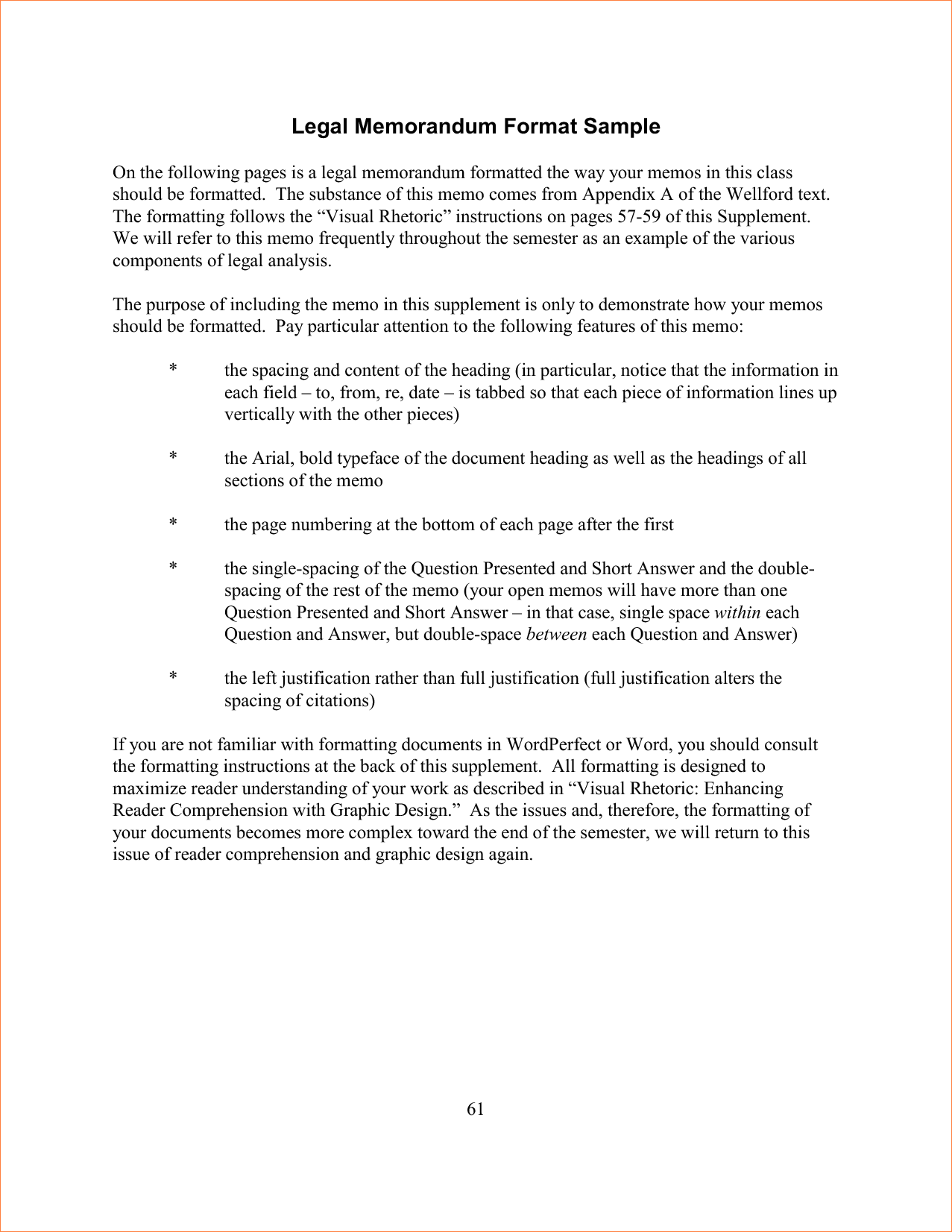 023 Essay Example Respect To Copy Legal Memo Format 4 Surprising Full