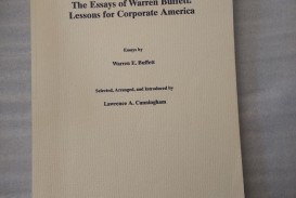 023 Essay Example S L1600 The Essays Of Warren Buffett Lessons For Corporate Remarkable America Third Edition 3rd Second Pdf Audio Book
