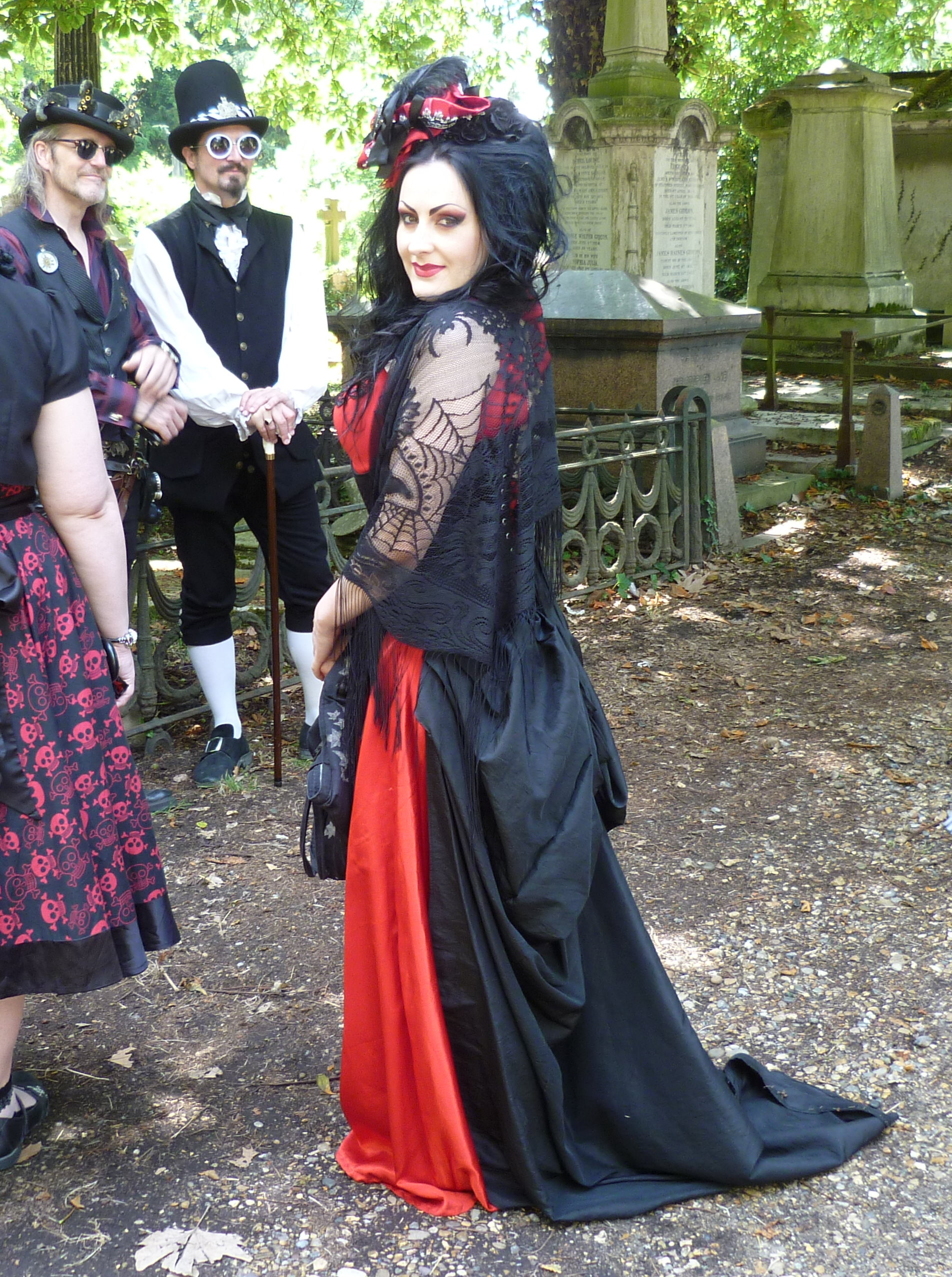 023 Essay Example What Does Fashion Mean To You Goth At Kensal Green Cemetery Stupendous Full