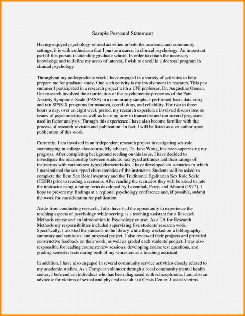 023 Essay For Graduate Admission Example Admissions Surprising Nursing School Personal 480