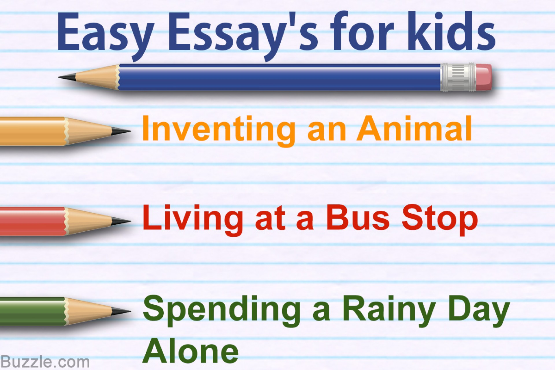 023 Essay Topics For Kids One Paragraph Magnificent 1920