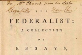 023 Federalist Papers Alexander Hamilton Essays Essay Frightening 51 78 Did Wrote