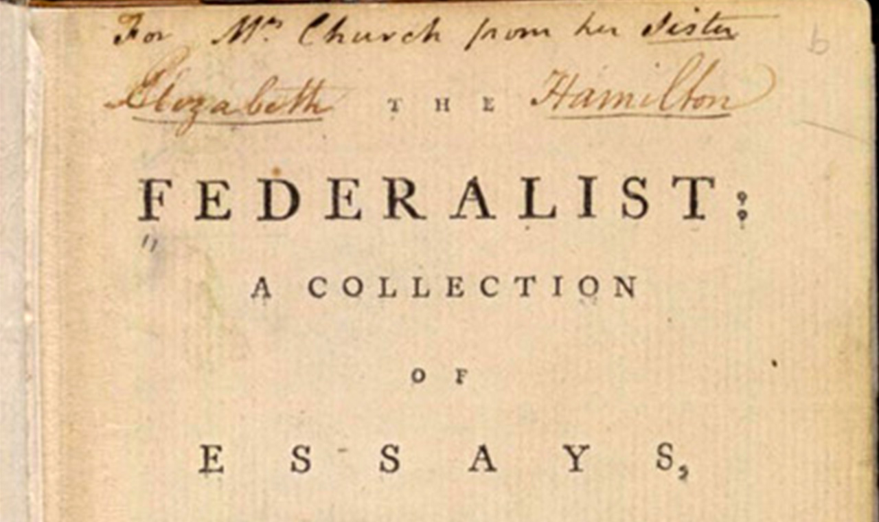 023 Federalist Papers Alexander Hamilton Essays Essay Frightening 51 78 Did Wrote Full