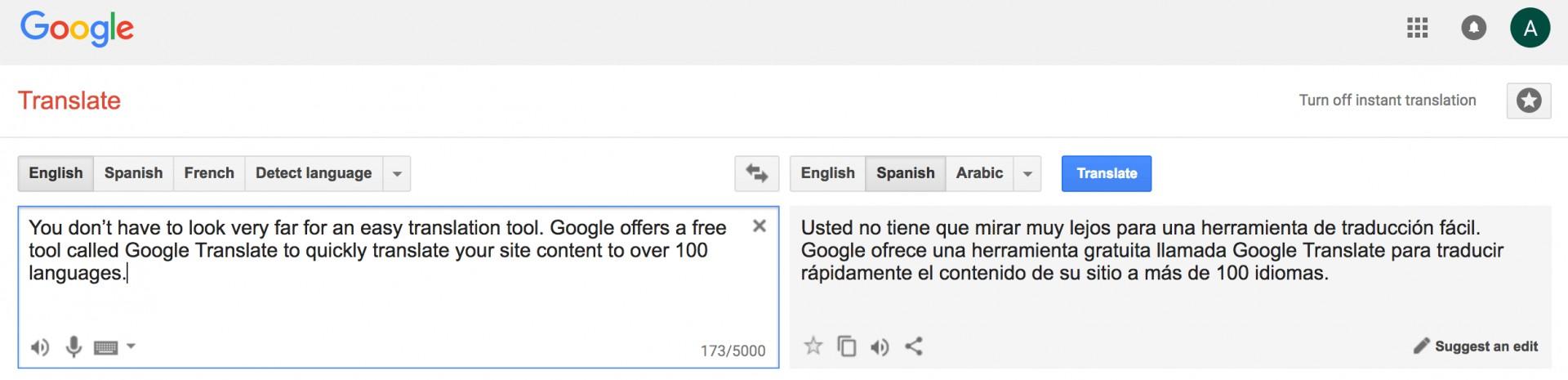 023 Google Translate Crazy Egg My Essay Into Spanish Remarkable 1920