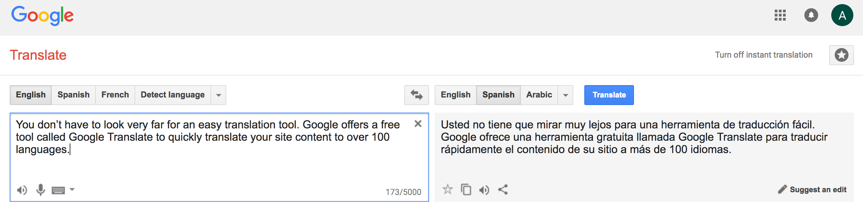 023 Google Translate Crazy Egg My Essay Into Spanish Remarkable Full