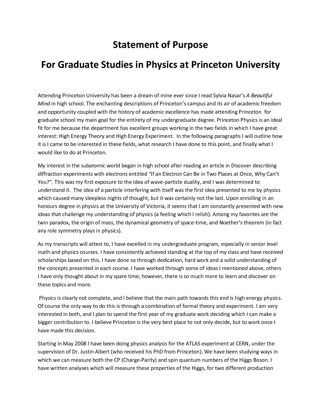 How to write a graduate essay
