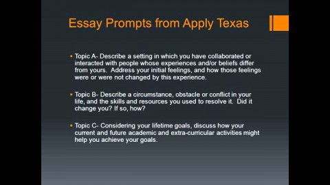 023 Maxresdefault Apply Texas Essays Striking Essay C Examples Prompt Example Topic 480
