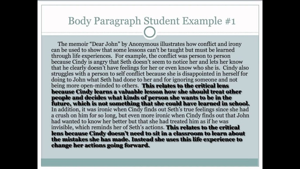 023 Maxresdefault Critical Lens Essay Best Sample Template Example English Regents Large