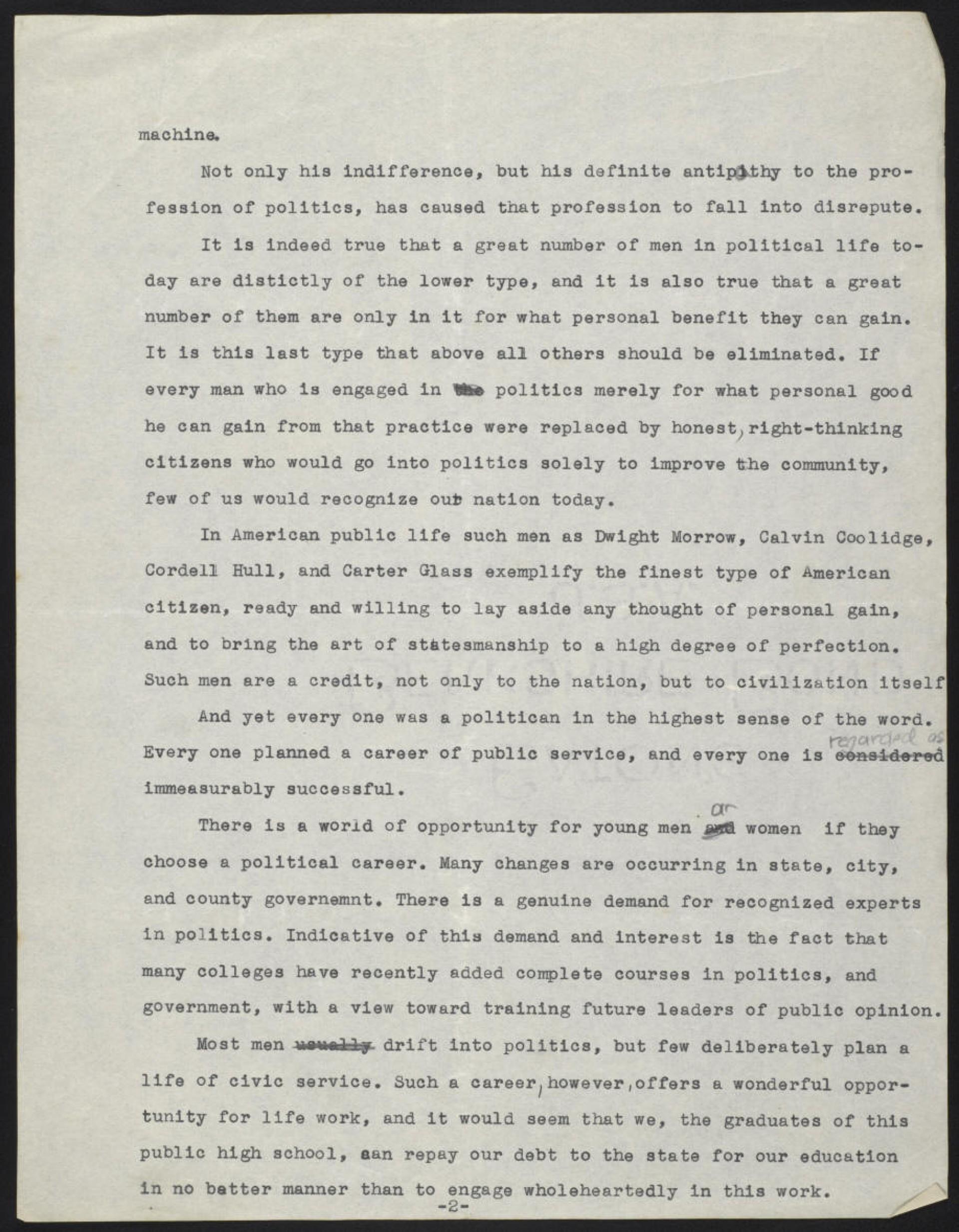 023 Mwein 002 High School Graduation Essay Rare Day Ceremony 1920
