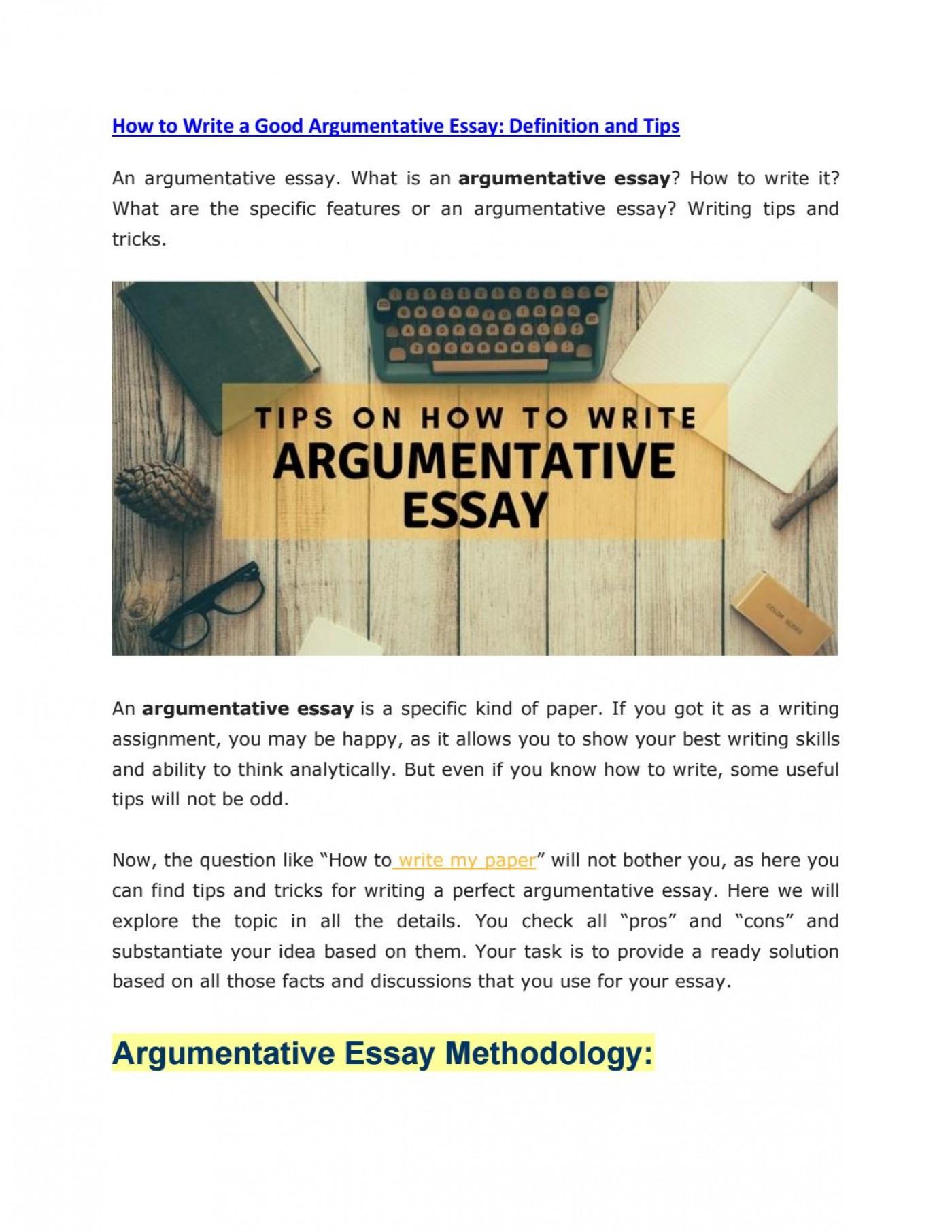 Definition argument essay