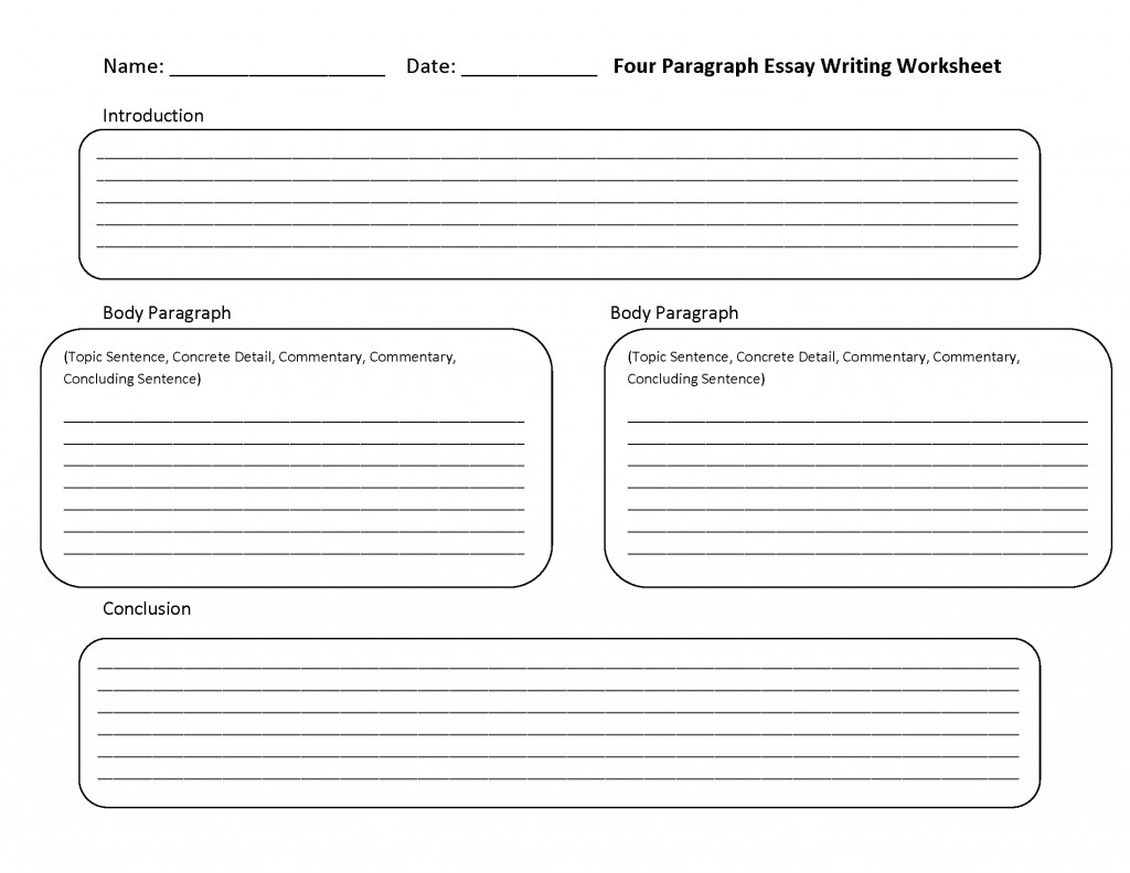 023 Paragraph Essay Writing Prompts Middle School Example Four Incredible 5 Large