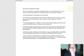 023 Personal Essay Outline Preview Formidable Narrative Sample Philosophy