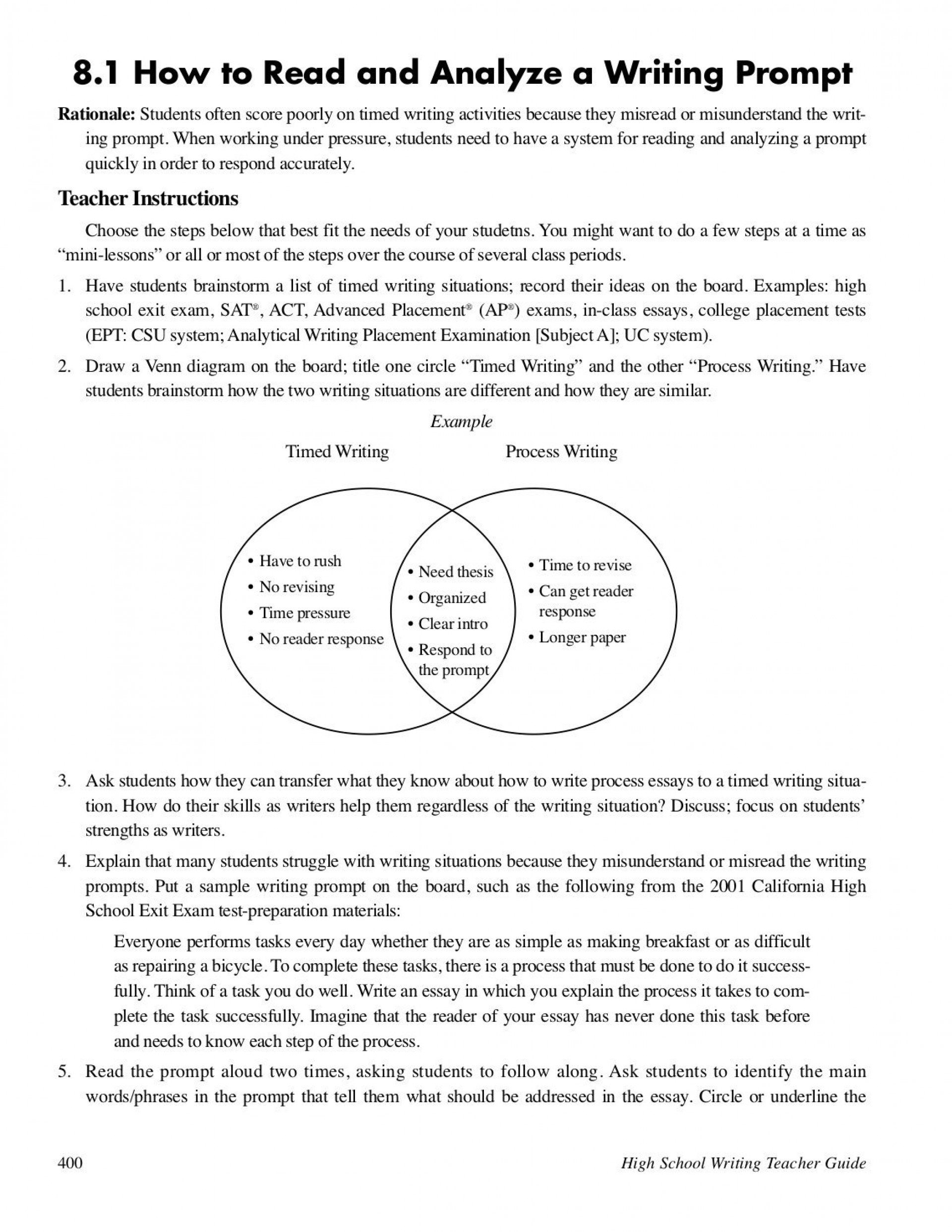 023 Prompts For Writing Essays Essay Example Model College Homework Academic Service How To Read And Analyze Prompt Best Persuasive Opinion 4th Grade 1920