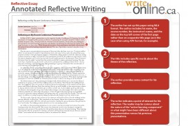 023 Reflective Annotatedfull Page 1 Essay Example Beautiful Examples Writing Pdf College Sample 320