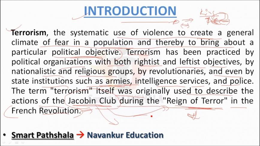 023 Terrorism Essay Maxresdefault Wonderful Paper Topics Outline War On