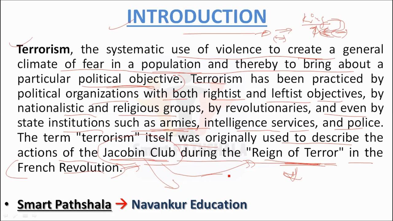 023 Terrorism Essay Maxresdefault Wonderful Topics In English War On Full