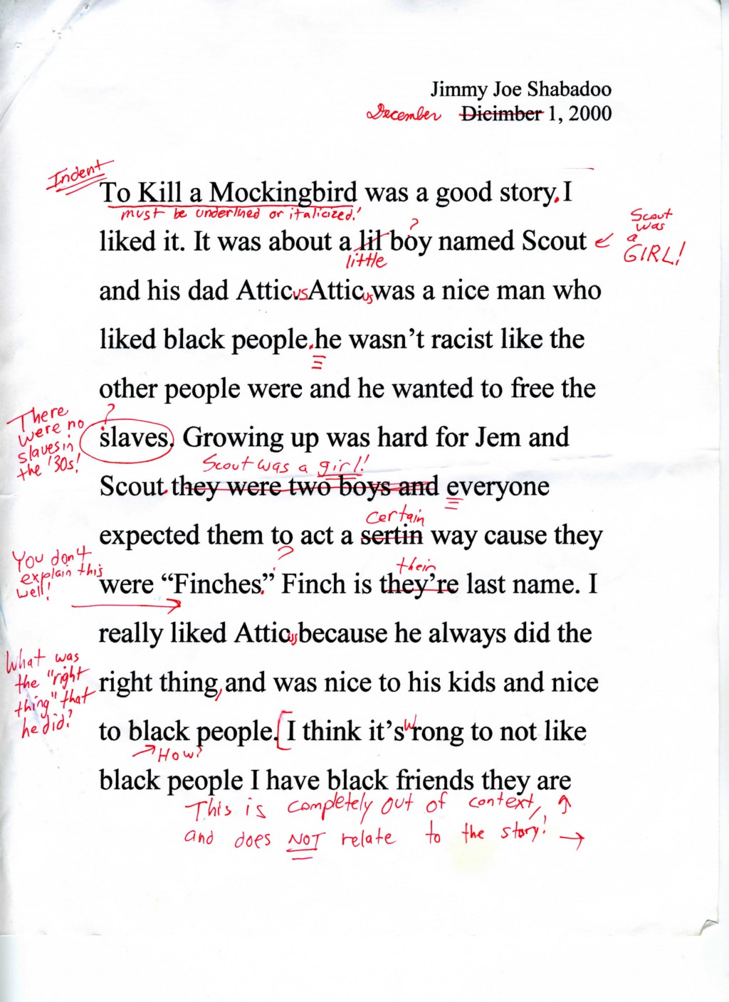 023 To Kill Mockingbird Parody Paper Essay Example Satire Fearsome Essays About High School Examples On Gun Control Large
