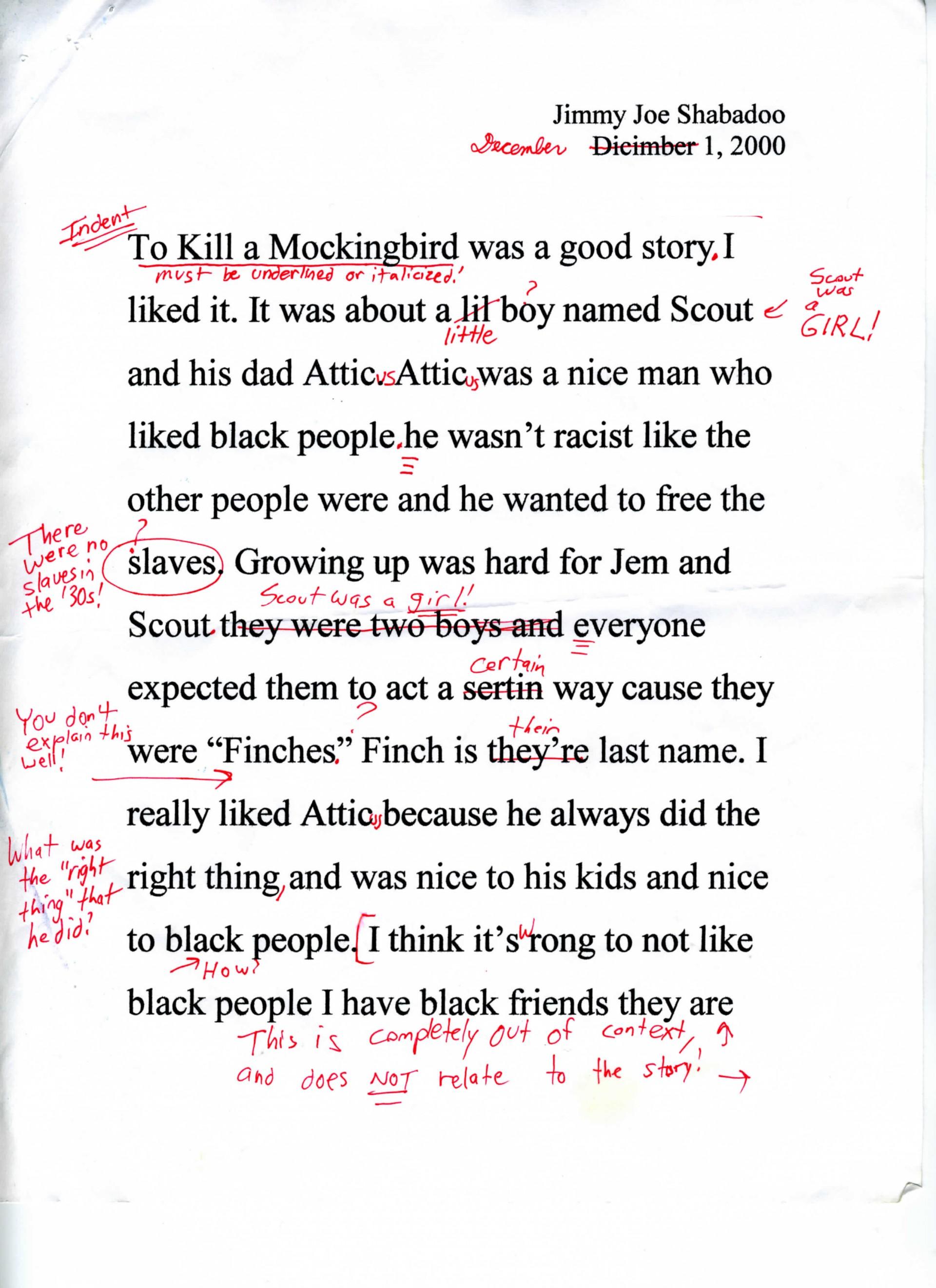 023 To Kill Mockingbird Parody Paper Essay Example Satire Fearsome Essays Satirical Topics For High School Examples On Gun Control 1920