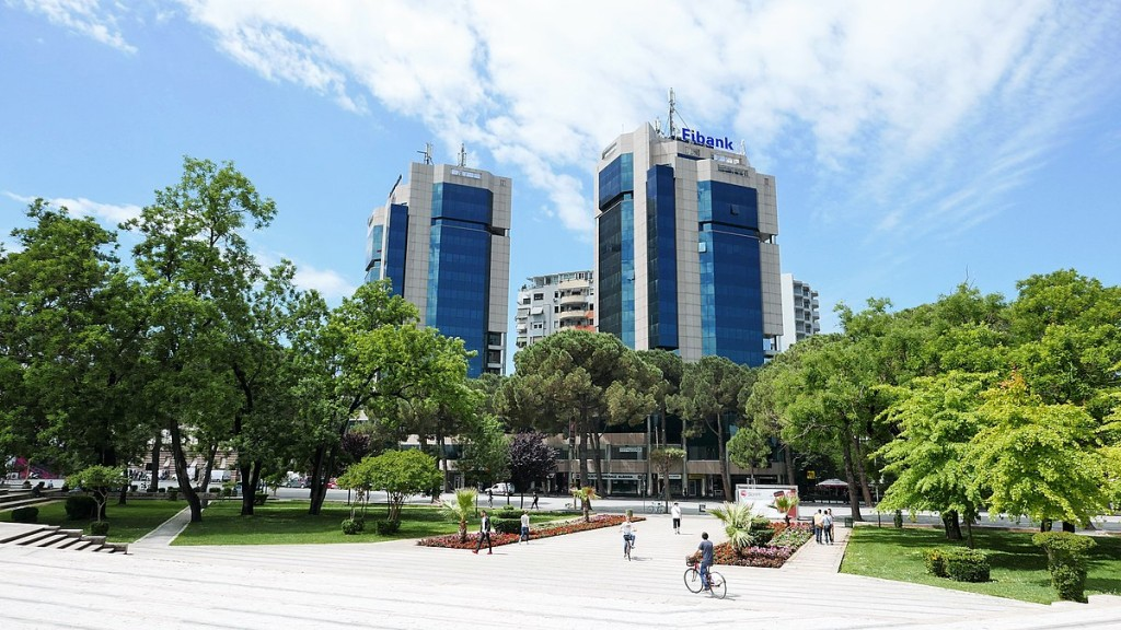 024 Essay Example 1200px Twin Towers Tirana2c 2017 Tourism In Unbelievable Albania Large