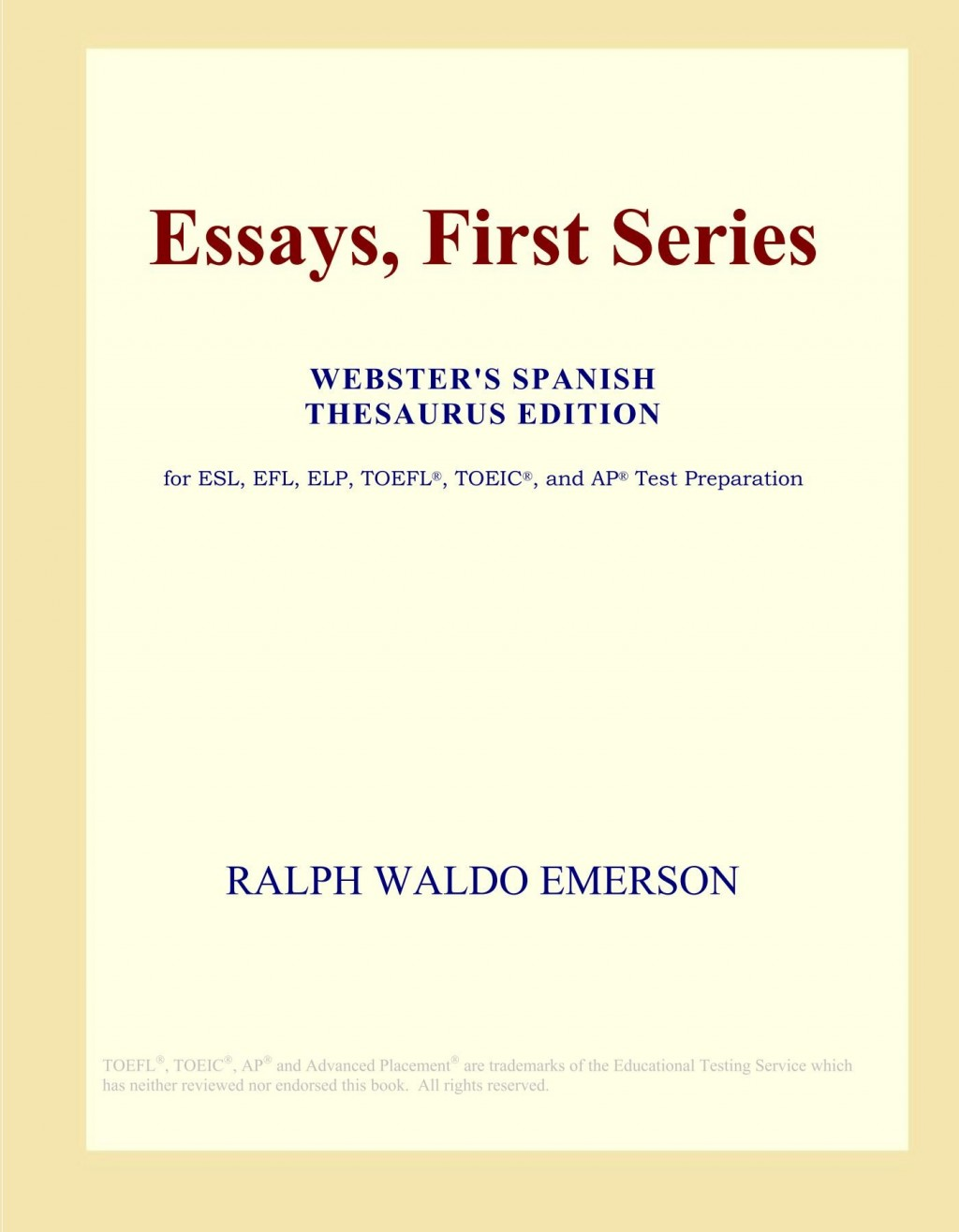 024 Essay Example 61cjxhnthzl Essays First Stunning Series Emerson Pdf Shelburne Publisher Large