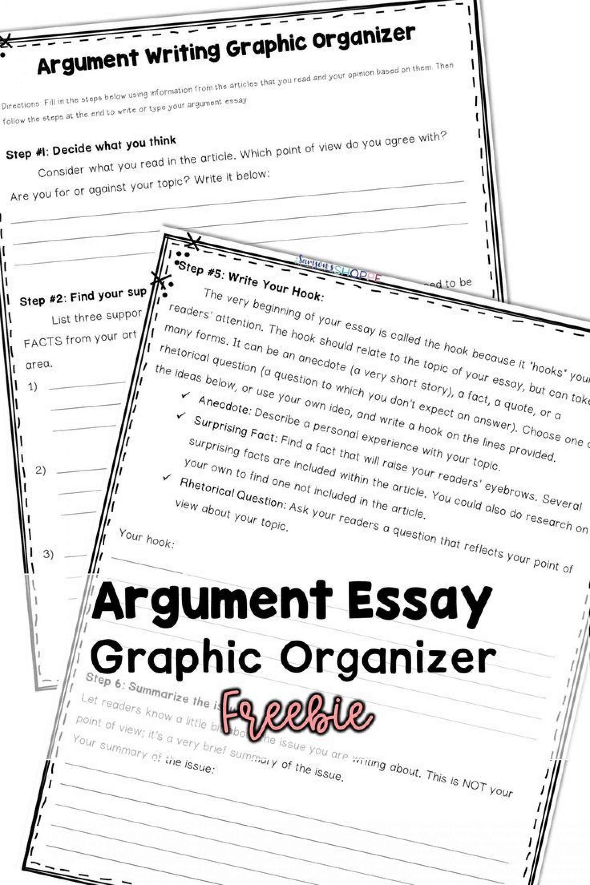 024 Essay Example Argumentative Graphic Incredible Organizer For Middle School Pdf 1920