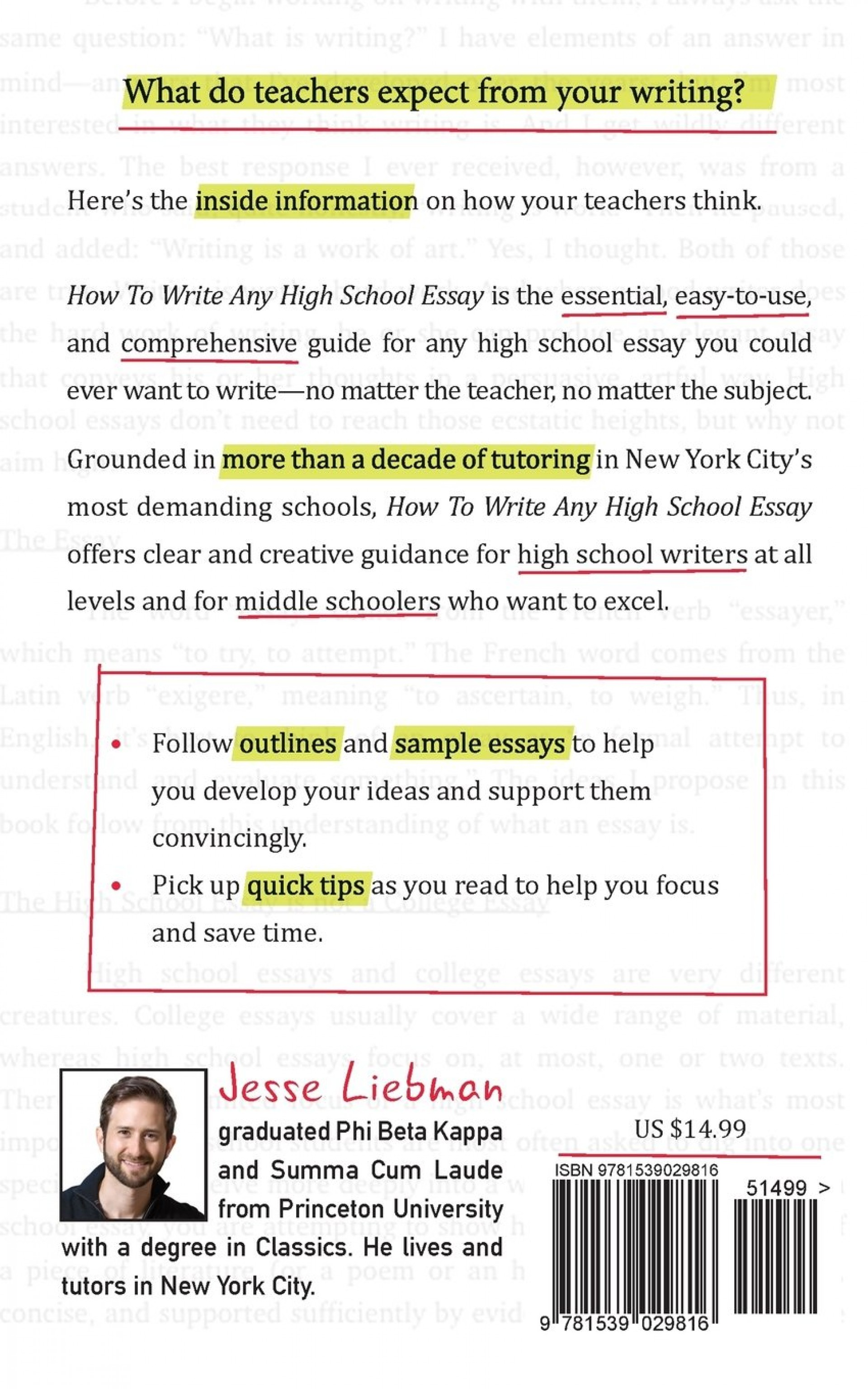 024 Essay Example High School Essays Astounding Sample About Yourself For Admission 1920