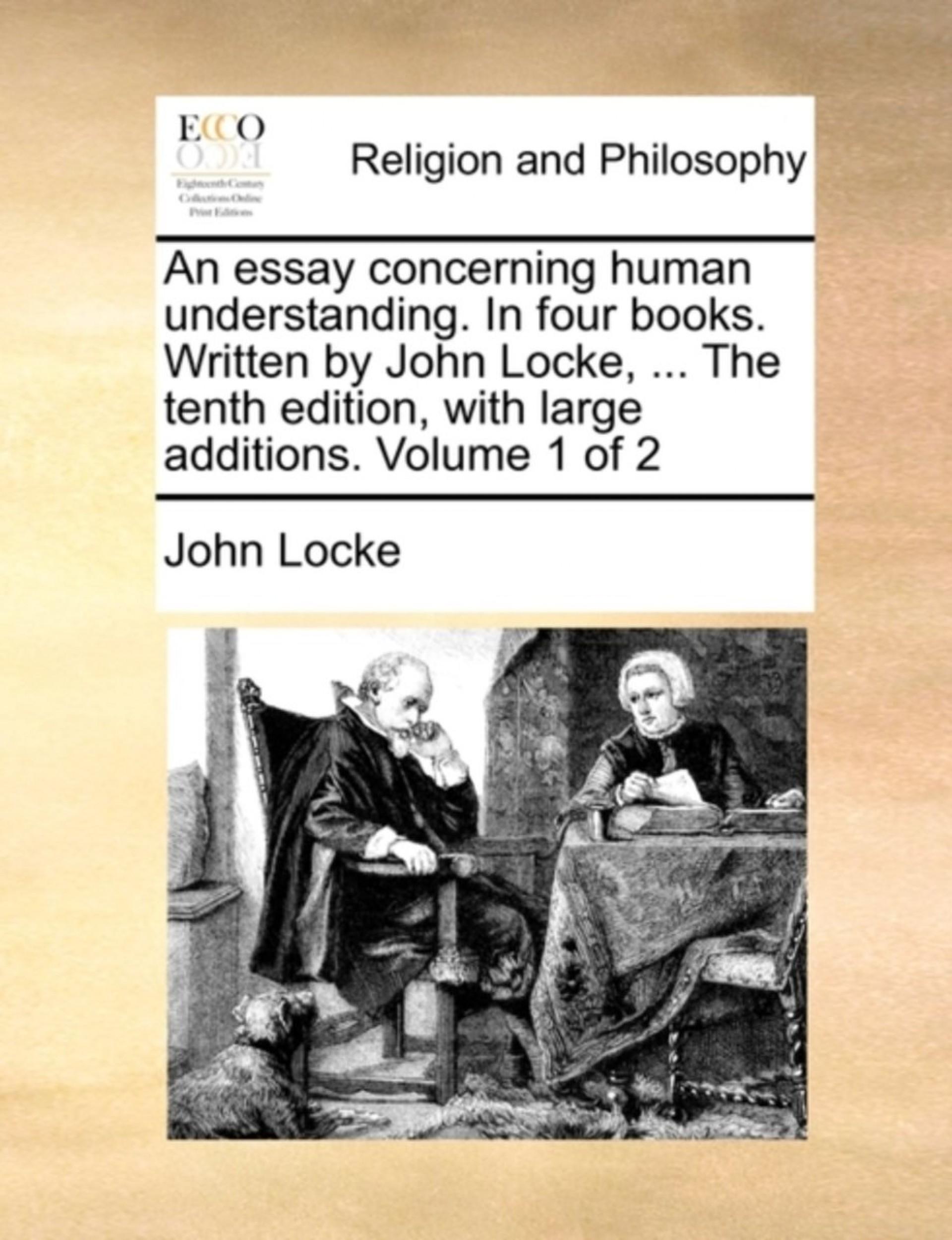 024 Essay Example John Impressive Locke Concerning Human Understanding Book 4 On Pdf Summary 1920
