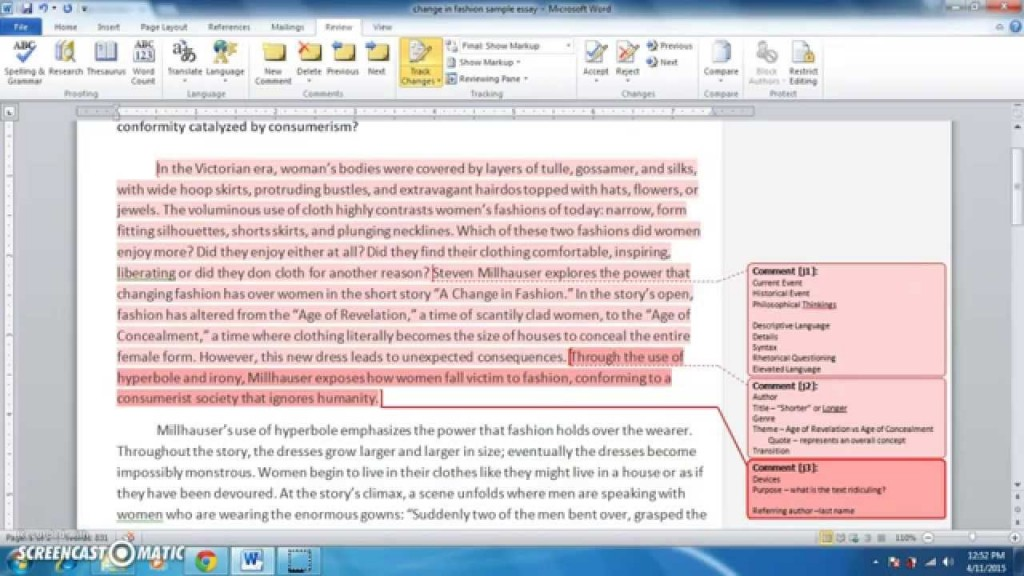 024 Essay Example Maxresdefault Satire Fearsome Essays About High School Examples On Gun Control Large