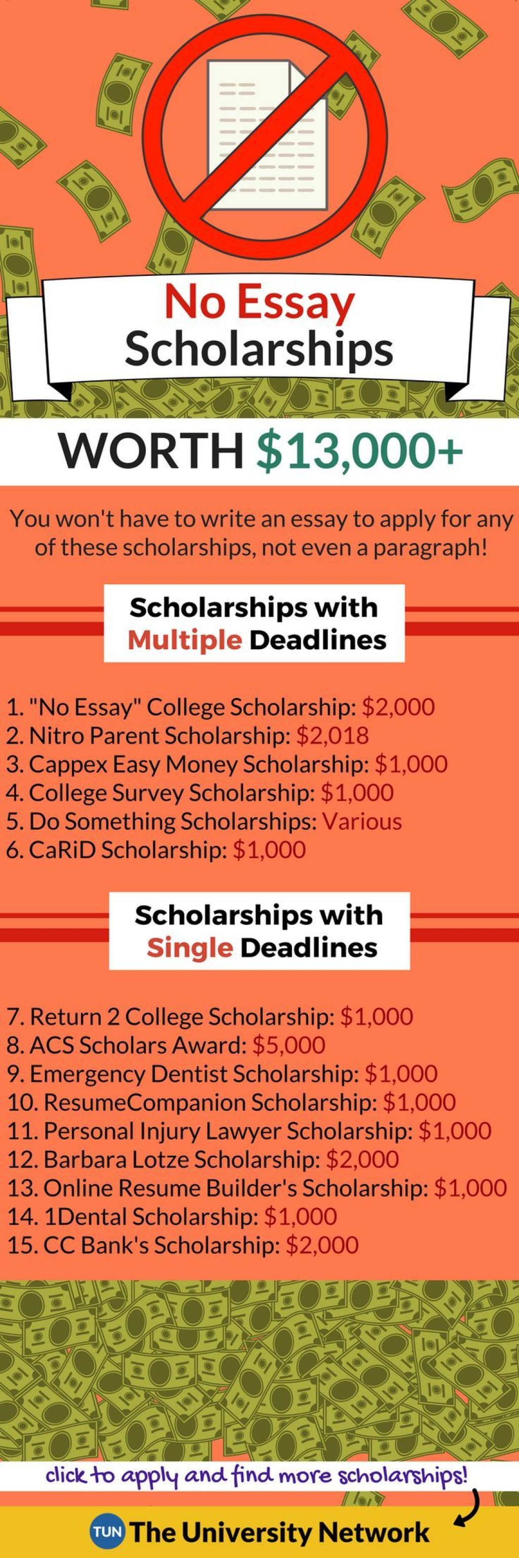 024 Essay Example No Scholarships For High School Rare Seniors 2018 Short Large