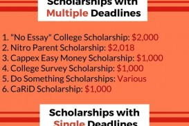 024 Essay Example No Scholarships For High School Rare Seniors 2017 2019