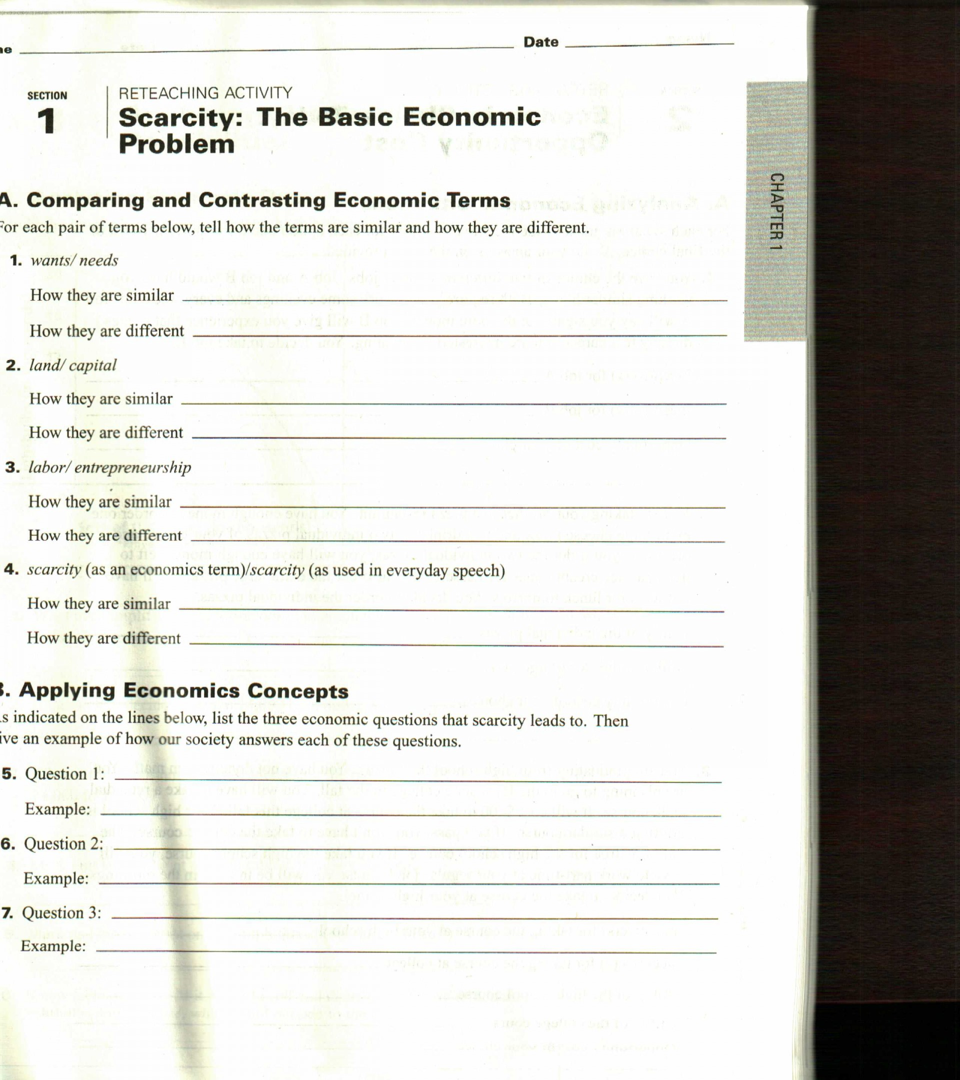 024 Essay Example20the20basic20economic20problem About Excellent Scarcity Food On Of Water In 200 Words India 1920