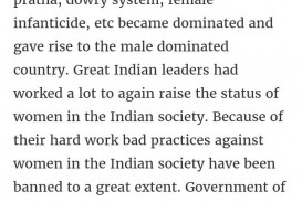 024 Essay On Women Incredible Women's Rights In India Short Empowerment