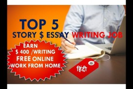 024 Essay Writing Jobs Example Archaicawful Uk In Kenya