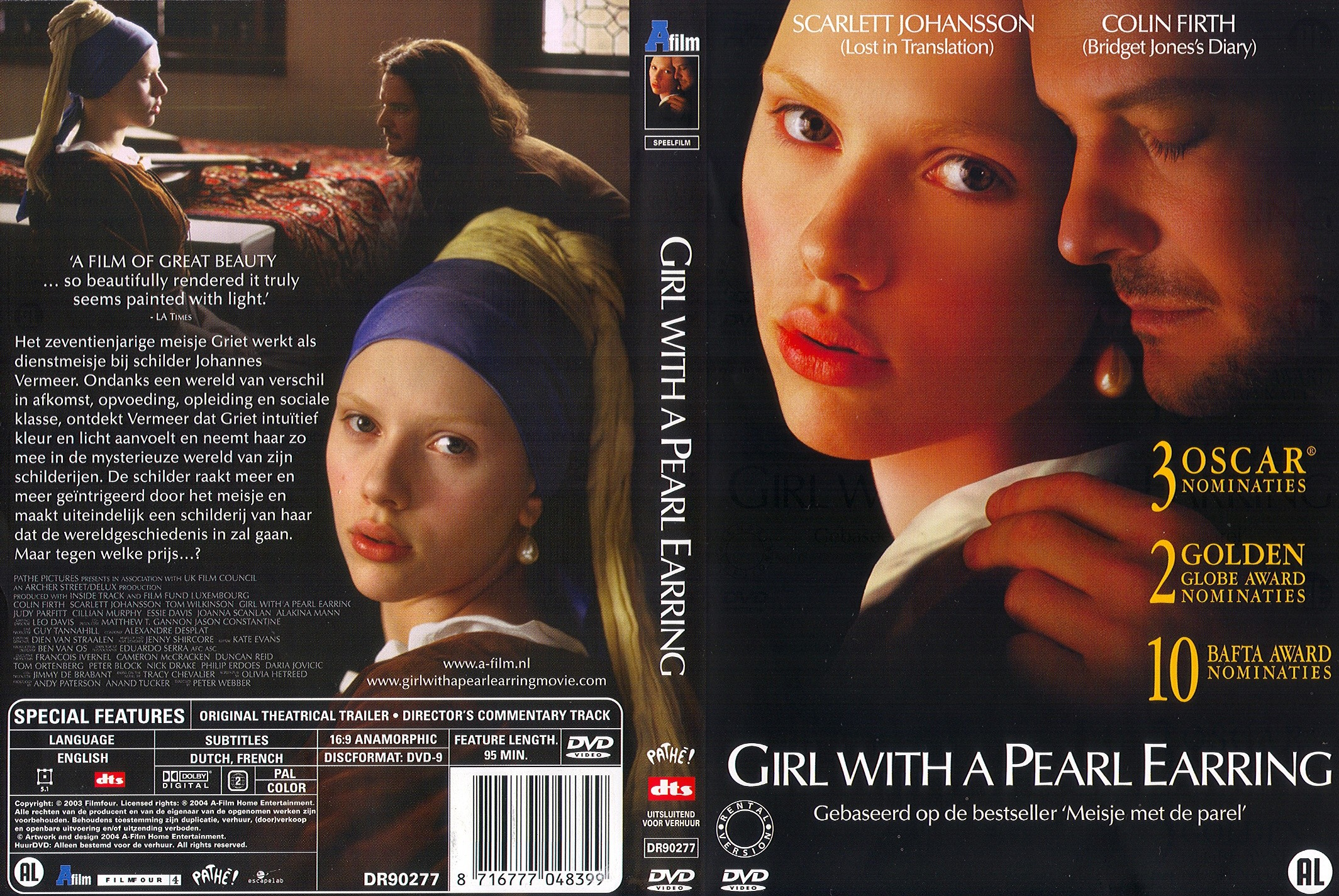 024 Girl With Pearl Earring Essay Example A Dutch R2 Cdcovers Cc Outstanding The Movie Film Review Full