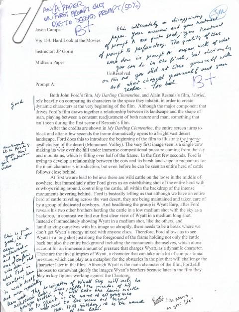 Essay lost generation
