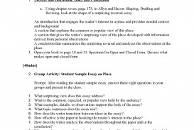 024 Informative Essay Topics Unit 2 Plans Instructor Copy Page 23 Remarkable Prompt 4th Grade Prompts For High School Expository College Students