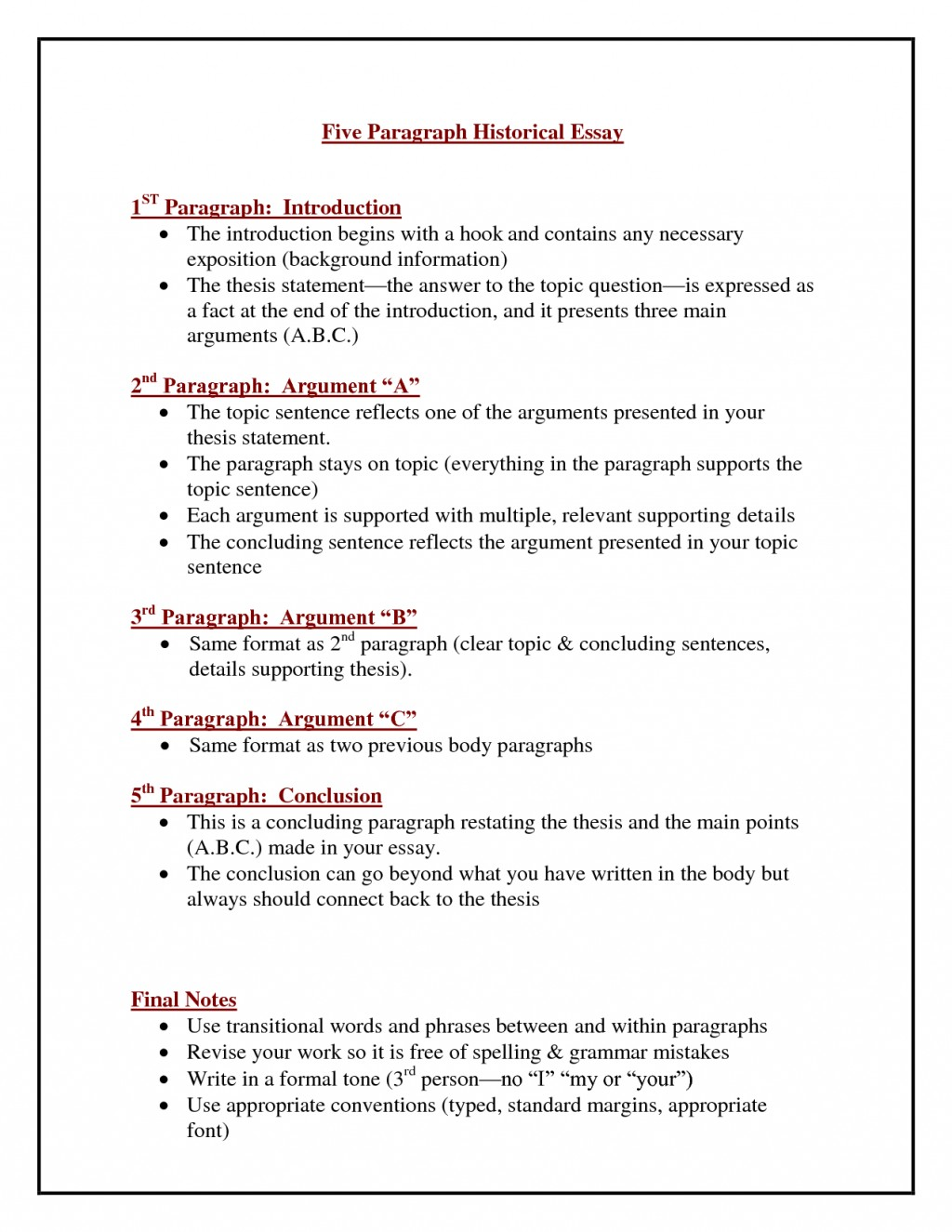 024 One Paragraph Essay Topics Magnificent Large